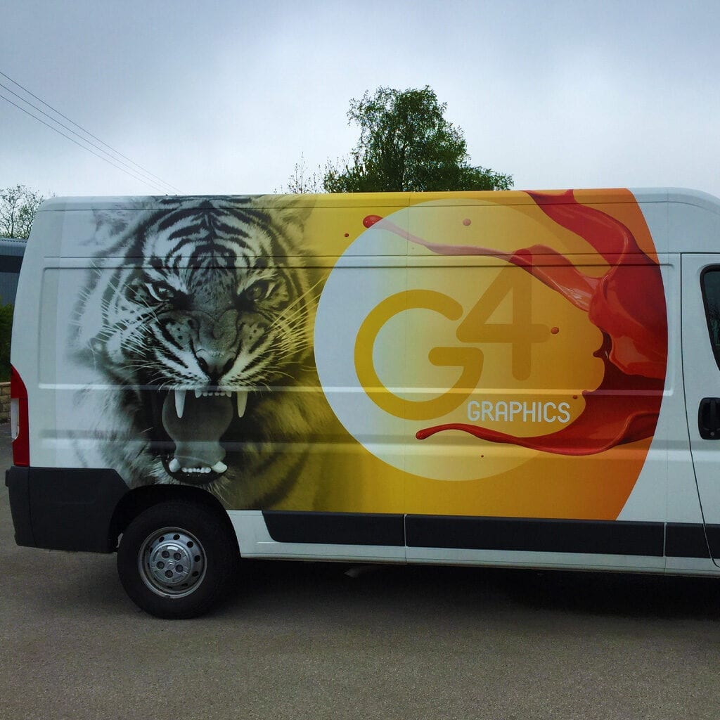 G4 Graphics Vehicle Signs